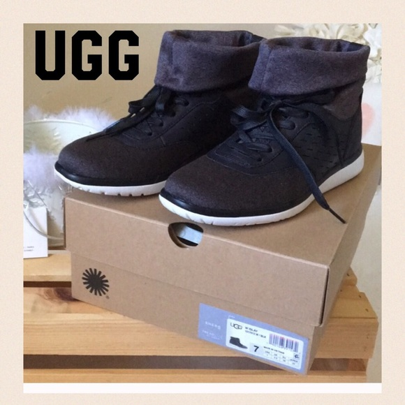 c0f753f0ff5 AUTHENTIC UGG SZ. 7 SLOUCHY HIGHTOP SNEAKERS BNWT NWT